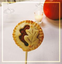 pumpkin pie pop