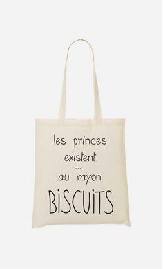 Tote Bag Les princes existent au rayon biscuits Plus