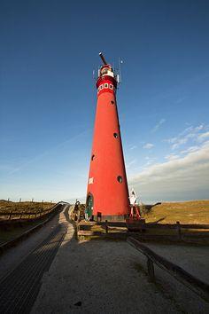 Schiermonnikoog Lighthouse - Netherlands.
