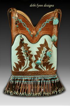 """The """"original"""" altered boot top bag from debi lynn designs since 1994!"""