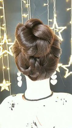 Braided Hairstyles for Long Hair Videos Easy Hairstyles For Long Hair, Braids For Long Hair, Twist Hairstyles, Beautiful Hairstyles, Party Hairstyles, Cool Hairstyles, Wedding Hairstyles, Hair Up Styles, Medium Hair Styles