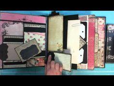 File Under M for Memories Scrapbook Album  Love things Kathy makes  she is fantastic!!!
