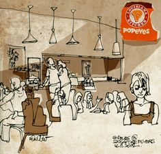 Popeyes at Singapore Flyer
