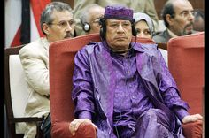 The ridiculous fashionista of Libya. THE LIBYAN Esther Kofod www.estherkofod
