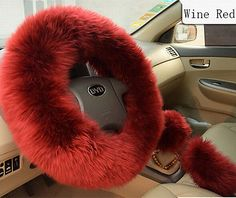 Details about Winter Steering Wheel Covers Wool Warmer Steering Wheel Cover Plush Covers, Car Interior Accessories, Car Interior Decor, Cute Car Accessories, Interior Design, Fancy Cars, Cute Cars, Fuzzy Steering Wheel Cover, Steering Wheels, Girly Car