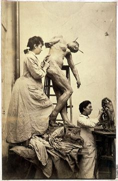 Sculptor Camille Claudel. She was not insane, just too grand for her time. Rodin hadn't a candle to her torch. A fire like hers should never have been suppressed.