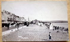 Real Photo PC the Beach Weymouth Dorset posted 1910 C770 | eBay
