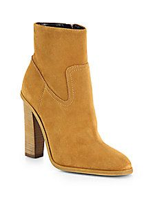 Saint Laurent - Hunt Suede Ankle Boots