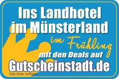 Ins Landhotel im Münsterland im Frühling #Reise #Urlaub #Ostern #sparen