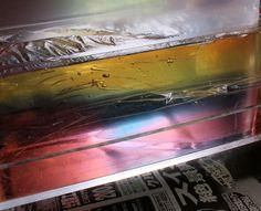 透明石けん 色が混ざらないように型入れする方法 新潟 手作り石鹸の作り方教室 アロマセラピーのやさしい時間