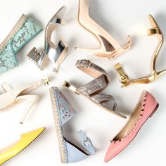 A woman can never have too many shoes!
