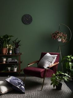 Scouted: Capra Designs Rocky Road collection - We Are Scout - lovely. - Scouted: Capra Designs Rocky Road collection - We Are Scout - lovely. Living Room Green, Green Rooms, Bedroom Green, Home And Living, Living Room Decor, Green Walls, Green Painted Walls, Dark Living Rooms, Decor Room