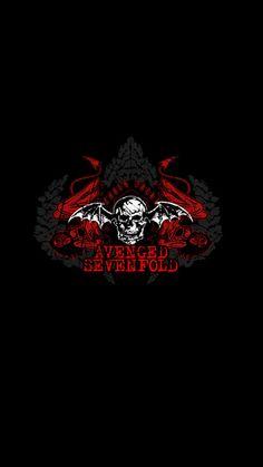 Avenged sevenfold wallets leather biker tri fold embroidered avenged sevenfold voltagebd Images