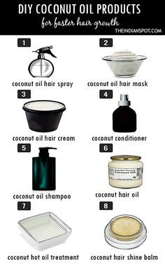 Coconut Oil keeps your hair strands strong, rejuvenates deep in to the follicle keeping the hair strong. Deeper oil penetration, gives your hair and scalp complete nourishment for problem free, healthy hair. It provides nourishment and prevent overall hair damage. Here, we've rounded up the best homemade coconut oil hair products to try now. COCONUT OIL HAIR SPRAY OR MIST MAke your hair healthy, shiny and smooth with a homemade coconut oil hair spray. Read More >> COCONUT HAIR MASKS  Sticky…