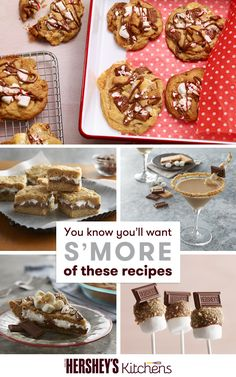 Channel your days as a child with these delicious and easy-to-make S'more recipes from HERSHEY'S that are perfect for fall or winter. With just graham crackers, marshmallows and HERSHEY'S Milk Chocolate Bars, these recipes are not only delicious but also easy to make! Try these recipes for yourself this season – we promise you'll want s'more.