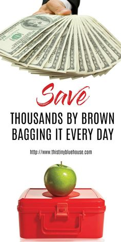 Five Super Easy Ways to Brown Bag Your Lunch and Save Money - Frugal Living | Money Saving Tips | Budget | Debt Free | Save Money | Frugal Tips & Tricks | Brown Bagged Lunches | Packed Lunches