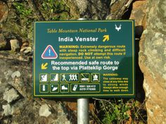 India Venster route - Scramble up the mountain Steep Rock, Table Mountain, Rock Climbing, Cape Town, National Parks, India, Travel, Goa India, Viajes