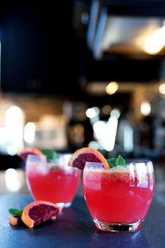 Not a huge Mojito fan but these look tasty! Blood Orange Mojito | bsinthekitchen.com #cocktail #drink #bsinthekitchen