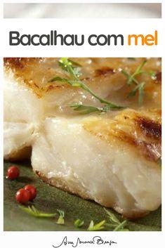 Peixe agridoce e no ponto certo! Seafood Recipes, Baked Potato, Mashed Potatoes, Brunch, Baking, Ethnic Recipes, Fitness, Desserts, Easy Cod Recipes