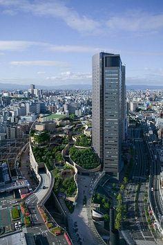 Namba Park I Jerde I Osaka, Japan