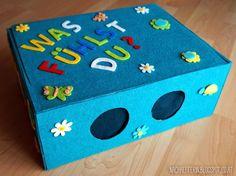 Fühlbox für große und kleine Kinder.