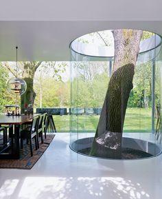 Вилла в Бельгии по дизайну Мартена ван Северена