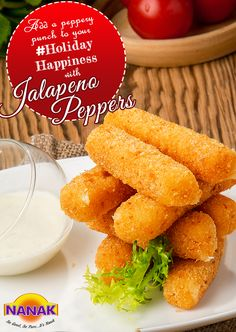 Give your #NewYear parties a punchy start with our #JalapenoPeppers. Buy them now from your nearest #ethnic #grocery store. Check out our range here http://nanakfoods.com/products/appetizers  #HolidaySeason #IndianSnacks #Appetizer