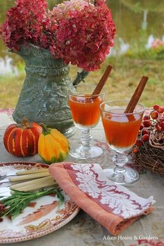 Autumn Entertaining, Garden Party