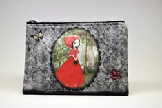 The little red riding hood carry all pouch,Toiletry Bag,make up bag, Wash Bag,Zipper Pouch kids Little Red Riding, Red Riding Hood, Unisex Gifts, Oeko Tex 100, The Little Prince, Valentine Day Gifts, Christmas Gifts, Wash Bags, Toiletry Bag