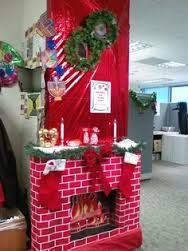 Christmas Office Decor
