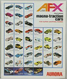 Aurora AFX 1977 Slot Cars Catalog Brochure Booklet Magna-traction