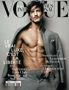 Vogue Hommes International SS 2013 Jarrod Scott by Sølve Sundsbø
