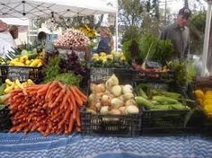 Getting Fresh Veggies and Fruits from your local Farmers will always be a good healthy option.   Think Global, Eat Local!  #farmer #market #local #health #fruit #veggie #vegetable #bon