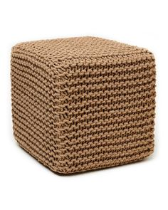Now available from Bargains Delivered!  Natural Jute Pouf... at http://www.bargainsdelivered.com/products/amb0001-1818-natural-jute-pouf-square?utm_campaign=social_autopilot&utm_source=pin&utm_medium=pin