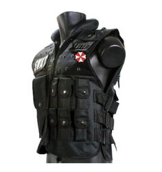 NEW Tactical Vest Equipment Special Forces Bullet-proof Body Armor Black F/S Swat Vest, Armas Airsoft, Gillet, Tactical Armor, Airsoft Helmet, Cosplay Armor, Larp Armor, Tac Gear, Black Costume