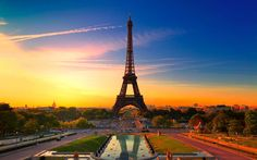 Trip to France. The Eiffel Tower is a wrought iron lattice tower on the Champ de Mars in Paris, France. http://www.liveufly.com/  #liveufly #thetripexpert #vacation #trip #holiday #visit #france #eiffeltower