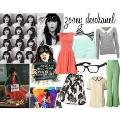 Zoey Deschanel inspired