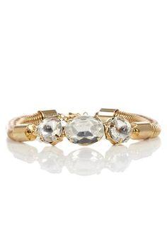 looks like my engagement ring! AMELIA BRACELET