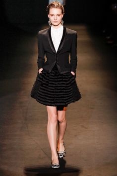 alberta ferretti rtw fall 2013 #fashion #mfw i totally see @Olivia Palermo wearing this to work.