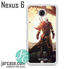 The Witcher 3 Geralt Phone case for Nexus 4/5/6