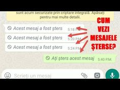 WhatsApp, cum vedem mesajele șterse - YouTube Tips, Youtube, Calculator, Laptop, Laptops, Youtubers, Youtube Movies, Counseling