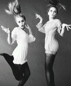 "Olsen sisters on ""boo-boo-bi-doo"" mode."