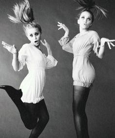 """Olsen sisters on """"boo-boo-bi-doo"""" mode."""