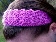 Free Crochet pattern for headband