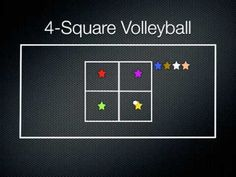 4-Square Volleyball 5th - 8th Grade Video   Lesson Planet