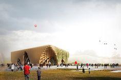 XTU Architectes, Padiglione Francia, Expo Milano 2015 #architettura #design #istallazione