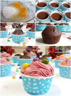 Tam Ölçülü Muffin Tarifi