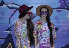 No Frills twins, inspiration, fashion inspiration, cool, style, freak, sea punks, witch house,