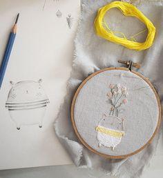 International sensation Adriana Torres from Miga de Pan is teaching an incredible immersive embroidery workshop in Boulder, CO September 19-21, 2014! #migadepan #minimakerie
