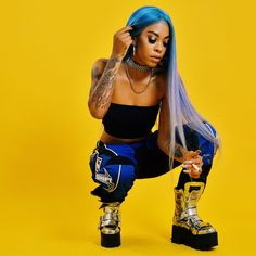 Rico Nasty is heading to Auckland in January for Hit the link in the bio/story & get to k. Rico Nasty is heading to Auckland in January for Hit the link in the bio/story & get to know her. Snoop Dogg, Black Girl Magic, Black Girls, Baddie Outfits For School, Black Girl Aesthetic, Doja Cat, Poses, Celebs, Celebrities